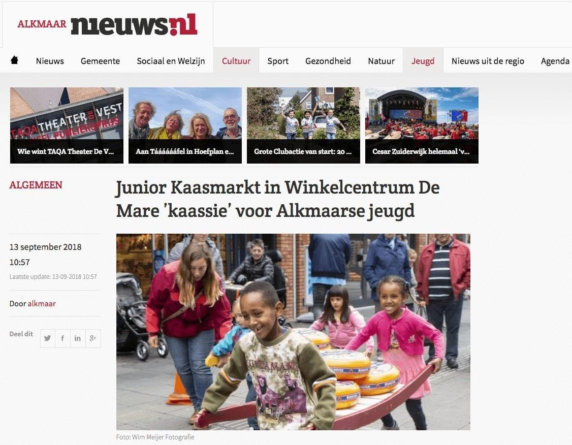 Junior Kaasmarkt