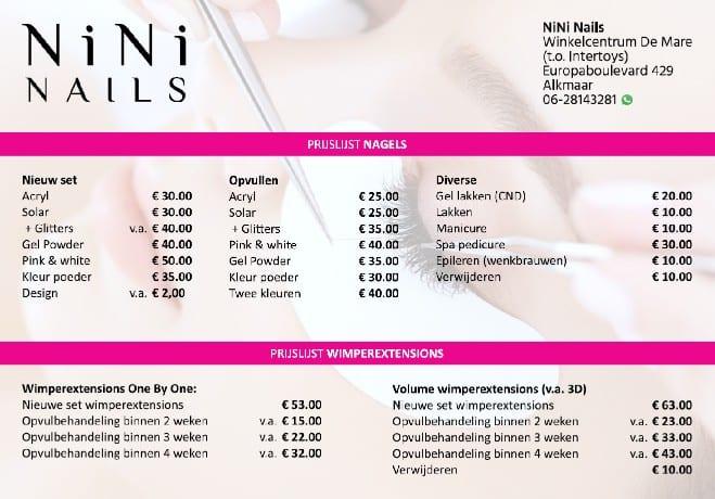 nieuwe winkel nini nails winkelcentrum de mare rh winkelcentrumdemare nl
