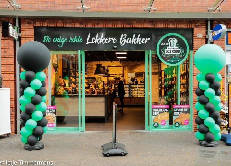 Nieuwe Winkel Bakker Jos Rood