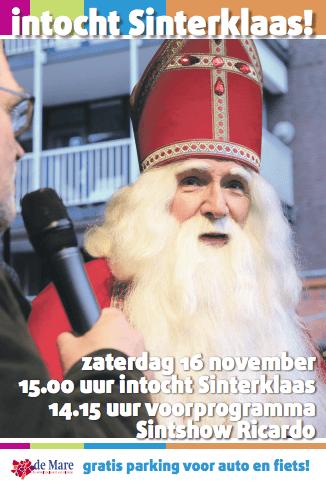 Intocht Sinterklaas 🗓
